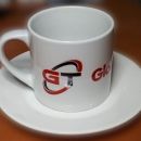 Chashka s logotipom